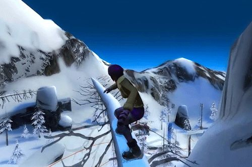 Download Snowboard party iPhone free game.