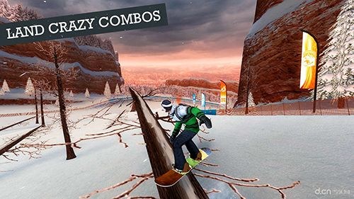 Screenshots of the Snowboard party 2 game for iPhone, iPad or iPod.