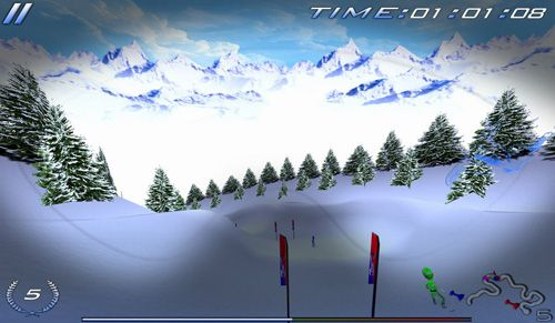 iPhone、iPad および iPod 用のSnowboard racing: Ultimateの無料ダウンロード。
