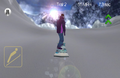 Capturas de pantalla del juego Snowboarding+ para iPhone, iPad o iPod.
