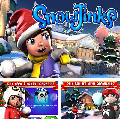In addition to the game Lightopus for iPhone, iPad or iPod, you can also download SnowJinks for free.