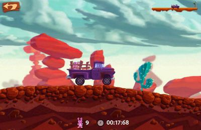 Capturas de pantalla del juego Snuggle Truck para iPhone, iPad o iPod.