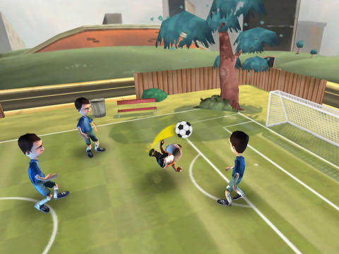 Capturas de pantalla del juego Soccer Moves para iPhone, iPad o iPod.