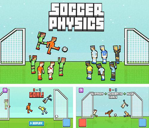 In addition to the game Alpine Safari for iPhone, iPad or iPod, you can also download Soccer physics for free.