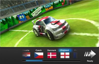 Download Soccer Rally: Euro 2012 iPhone free game.