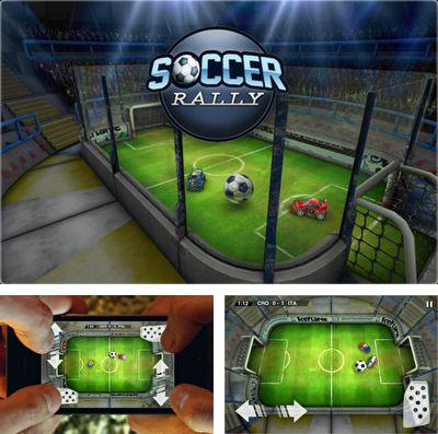 In addition to the game Tom Loves Angela for iPhone, iPad or iPod, you can also download Soccer Rally: Euro 2012 for free.