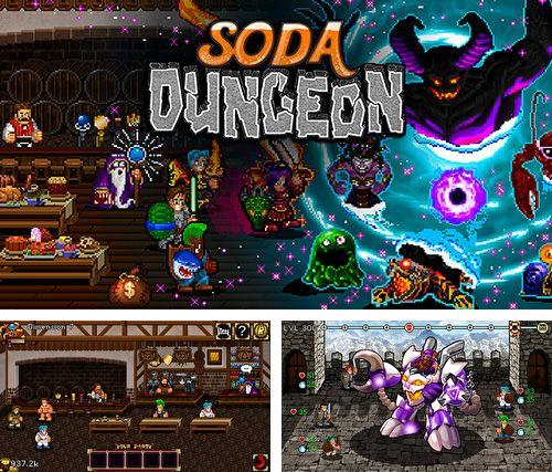 In addition to the game Zenonia for iPhone, iPad or iPod, you can also download Soda dungeon for free.