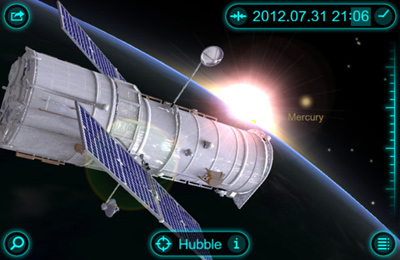 Screenshots do jogo Solar Walk – 3D Solar System model para iPhone, iPad ou iPod.