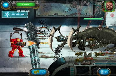 Download Soldier vs. Aliens iPhone free game.