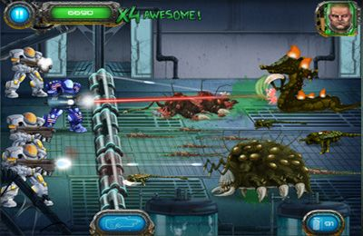 Descarga gratuita de Soldier vs. Aliens para iPhone, iPad y iPod.