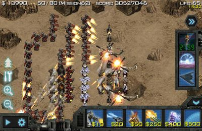 Screenshots vom Spiel Soldiers of Glory: Modern War TD für iPhone, iPad oder iPod.