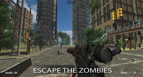 Écrans du jeu Soldiers vs. zombies pour iPhone, iPad ou iPod.