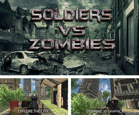 In addition to the game Jump & Splash for iPhone, iPad or iPod, you can also download Soldiers vs. zombies for free.