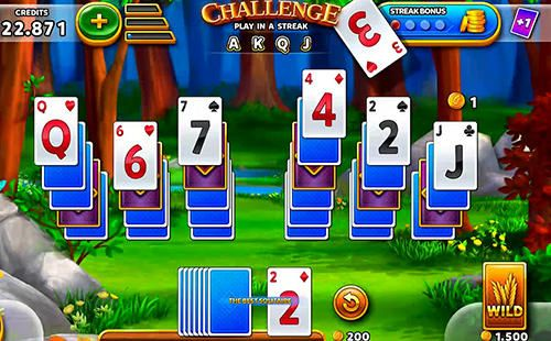 iPhone、iPad 或 iPod 版Solitaire: Grand harvest游戏截图。