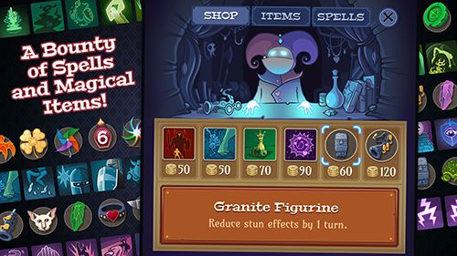 Screenshots of the Solitairica game for iPhone, iPad or iPod.