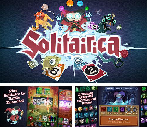Download Solitairica iPhone free game.