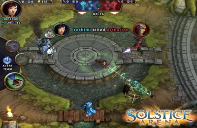 Screenshots of the Solstice Arena game for iPhone, iPad or iPod.