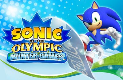 Sonic at the Olympic Winter Games iPhone game - free  Download ipa