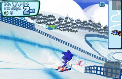 Kostenloser Download von Sonic at the Olympic Winter Games für iPhone, iPad und iPod.