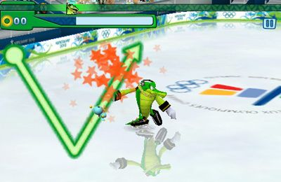 Screenshots vom Spiel Sonic at the Olympic Winter Games für iPhone, iPad oder iPod.