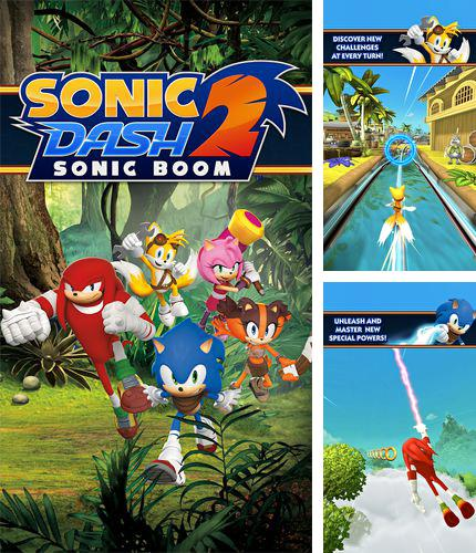 In addition to the game Walking dead. The game: Season 2 for iPhone, iPad or iPod, you can also download Sonic dash 2: Sonic boom for free.