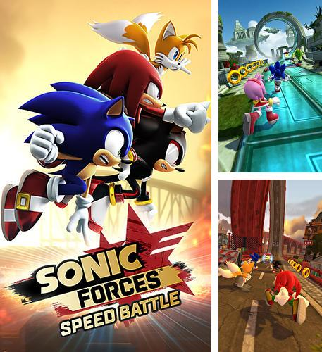Zusätzlich zum Spiel Das Snowbike-Rennen für iPhone, iPad oder iPod können Sie auch kostenlos Sonic forces: Speed battle, Sonic Forces: Speed Battle herunterladen.