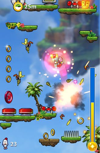 Download Sonic jump: Fever iPhone free game.