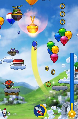 Free Sonic jump: Fever download for iPhone, iPad and iPod.