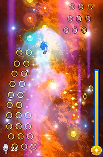 Screenshots of the Sonic jump: Fever game for iPhone, iPad or iPod.