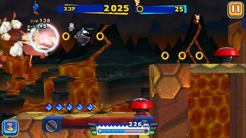 Descarga gratuita de Sonic: Runners para iPhone, iPad y iPod.