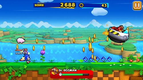 Capturas de pantalla del juego Sonic: Runners para iPhone, iPad o iPod.