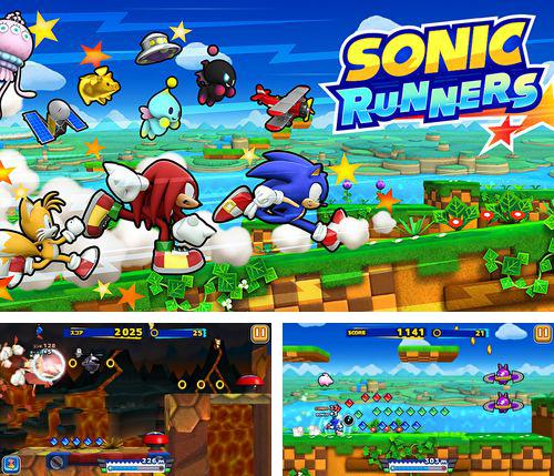 In addition to the game Blobster for iPhone, iPad or iPod, you can also download Sonic: Runners for free.