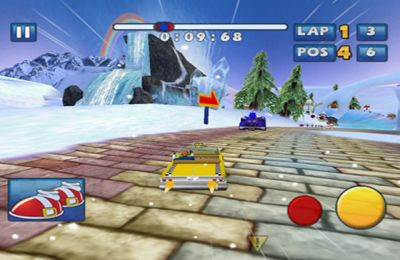 Игра Sonic & SEGA All-Stars Racing для iPhone