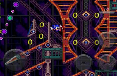 Capturas de pantalla del juego Sonic Spinball para iPhone, iPad o iPod.