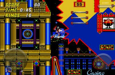 Descarga gratuita de Sonic the Hedgehog 2 para iPhone, iPad y iPod.