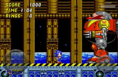 Capturas de pantalla del juego Sonic the Hedgehog 2 para iPhone, iPad o iPod.