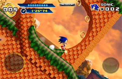 Descarga gratuita de Sonic The Hedgehog 4 Episode I para iPhone, iPad y iPod.