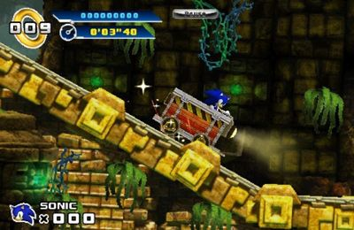 Игра Sonic The Hedgehog 4 Episode I для iPhone