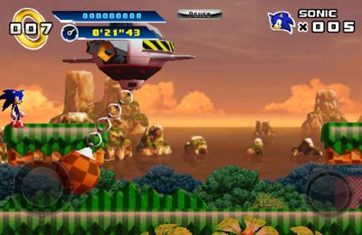 Screenshots vom Spiel Sonic The Hedgehog 4 Episode I für iPhone, iPad oder iPod.