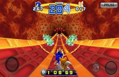Kostenloser Download von Sonic The Hedgehog 4. Episode II für iPhone, iPad und iPod.