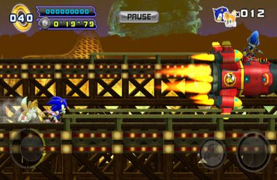 Écrans du jeu Sonic The Hedgehog 4. Episode II pour iPhone, iPad ou iPod.