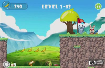 Capturas de pantalla del juego Sonics Rabbit para iPhone, iPad o iPod.