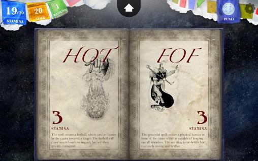 Capturas de pantalla del juego Sorcery! 3 para iPhone, iPad o iPod.