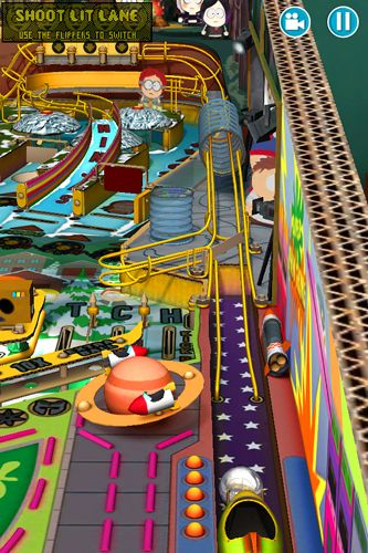 Capturas de pantalla del juego South park: Pinball para iPhone, iPad o iPod.