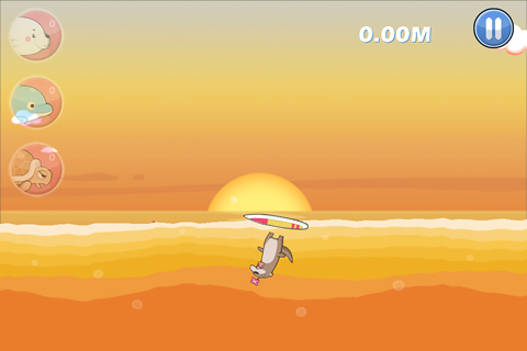 Screenshots of the South surfer 2 game for iPhone, iPad or iPod.