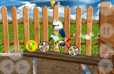 Capturas de pantalla del juego Space Bikers para iPhone, iPad o iPod.