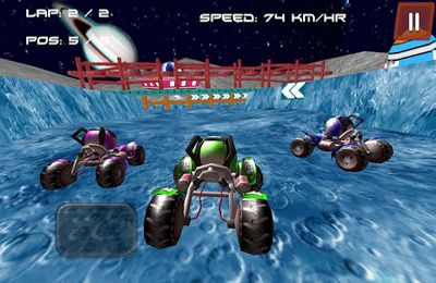 Écrans du jeu Space Buggy 3D ( Racing Game) pour iPhone, iPad ou iPod.