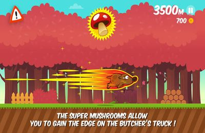Écrans du jeu Space Dog Run pour iPhone, iPad ou iPod.