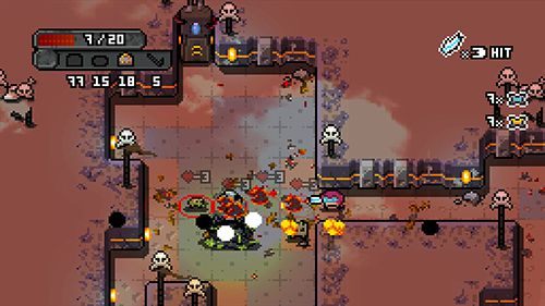 Écrans du jeu Space grunts pour iPhone, iPad ou iPod.