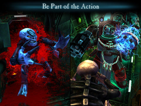 Download Space Hulk iPhone free game.